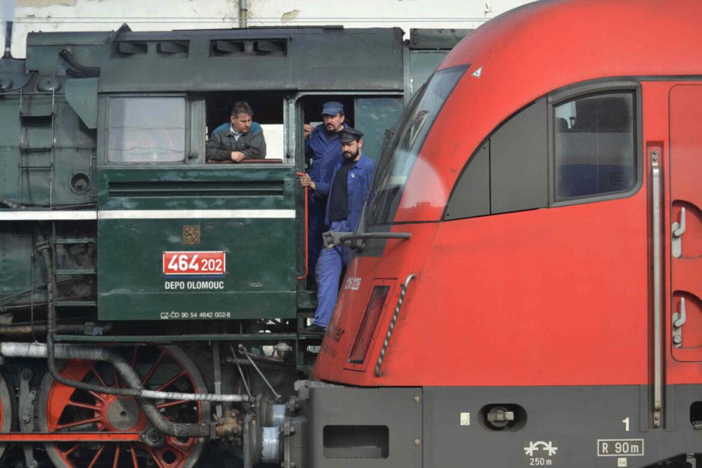 Oslavy 180 let trati Vídeň - Brno