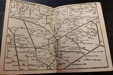 Jízdní řád země Moravskoslezské 1948